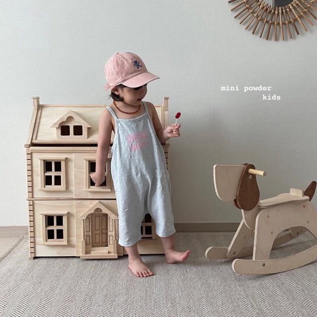MINI POWDER - Korean Children Fashion - #Kfashion4kids - Slap Jumpsuit - 6