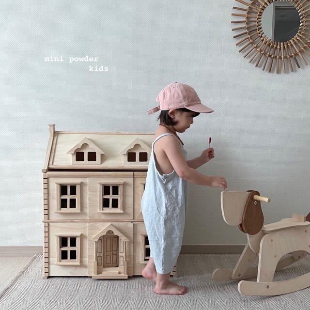 MINI POWDER - Korean Children Fashion - #Kfashion4kids - Slap Jumpsuit - 7