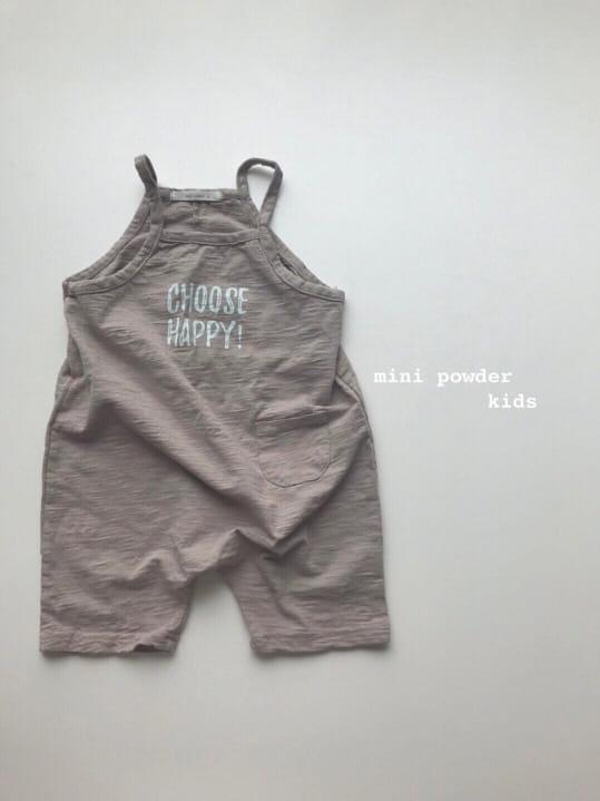 MINI POWDER - Korean Children Fashion - #Kfashion4kids - Slap Jumpsuit - 8