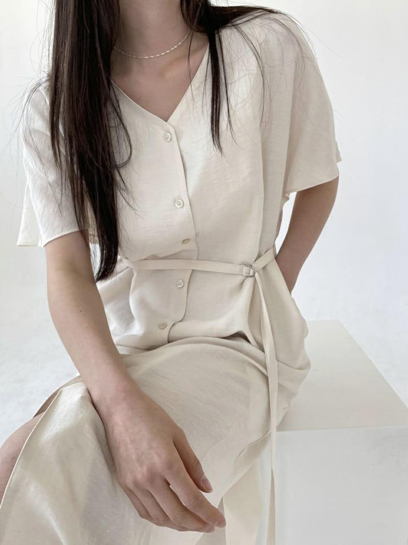 ONEAND - Korean Children Fashion - #Kfashion4kids - Linen Robe One-piece - 4