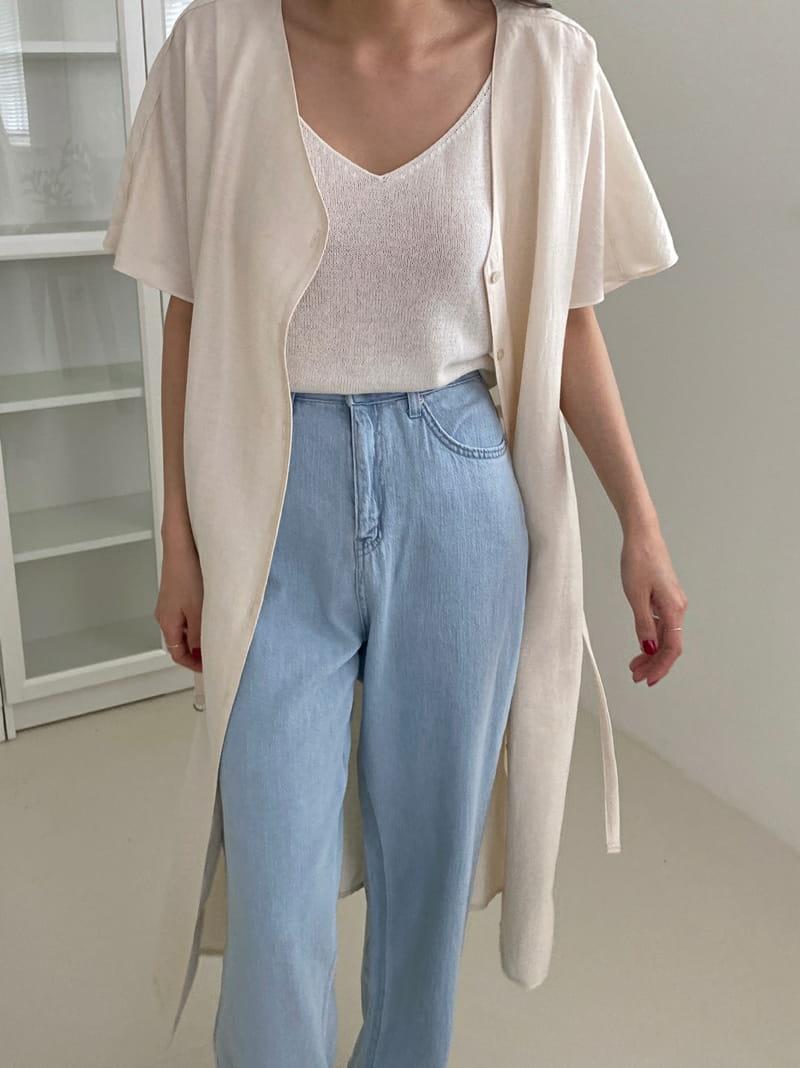 ONEAND - Korean Children Fashion - #Kfashion4kids - Linen Summer Slip - 3