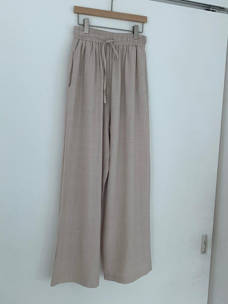 ONEAND - Korean Children Fashion - #Kfashion4kids - Mud Linen Pants - 2