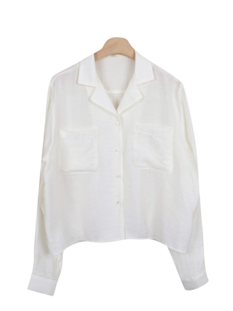 ONEAND - Korean Children Fashion - #Kfashion4kids - Pocket Shirt - 4