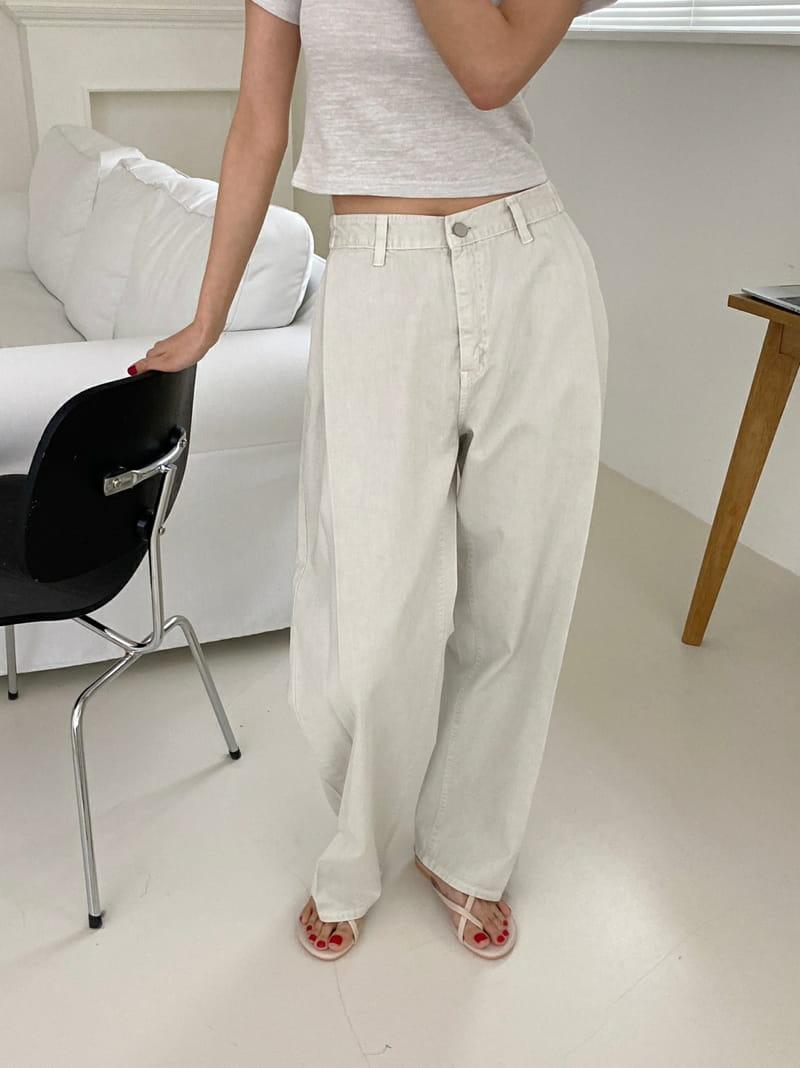 ONEAND - Korean Children Fashion - #Kfashion4kids - Pintuck Bio Pants