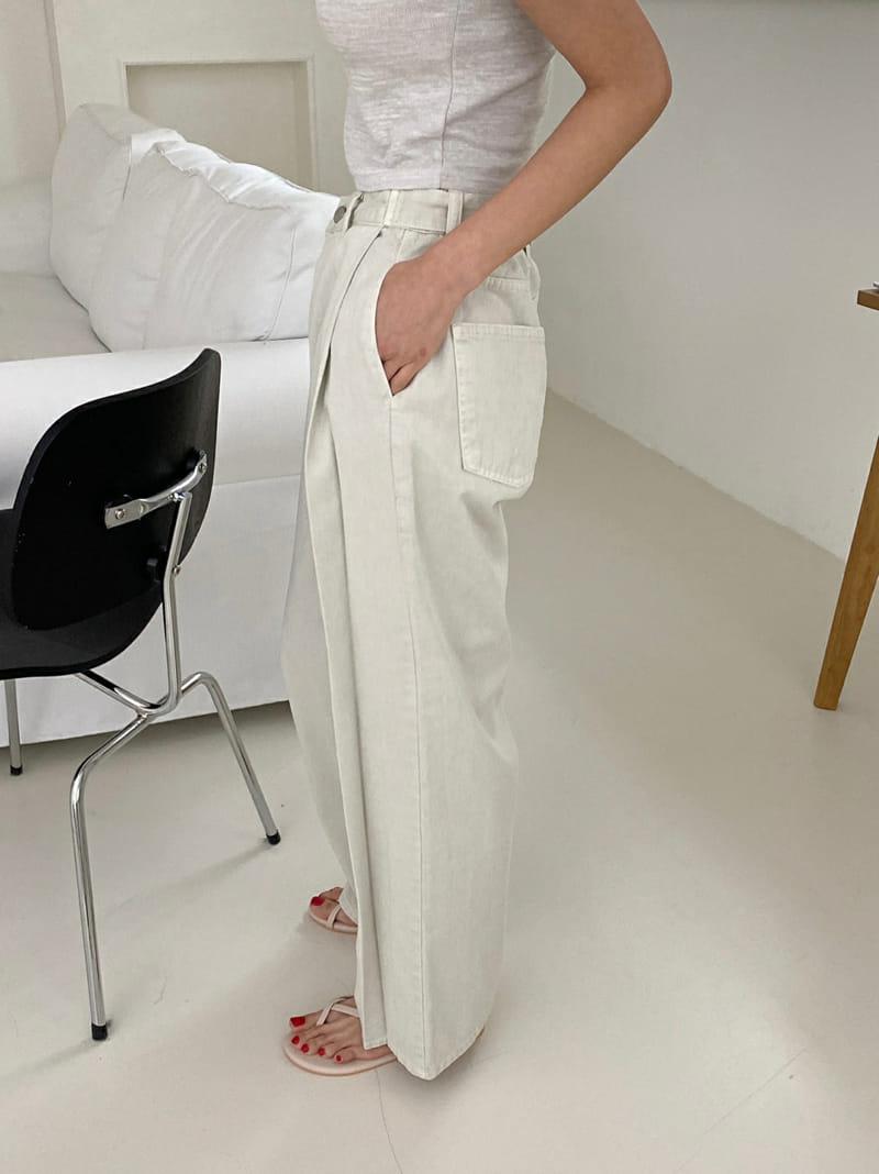 ONEAND - Korean Children Fashion - #Kfashion4kids - Pintuck Bio Pants - 3