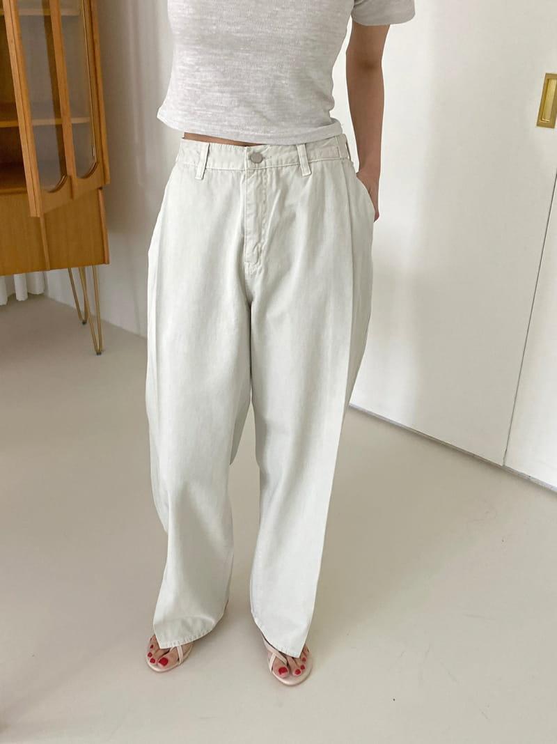ONEAND - BRAND - Korean Children Fashion - #Kfashion4kids - Pintuck Bio Pants