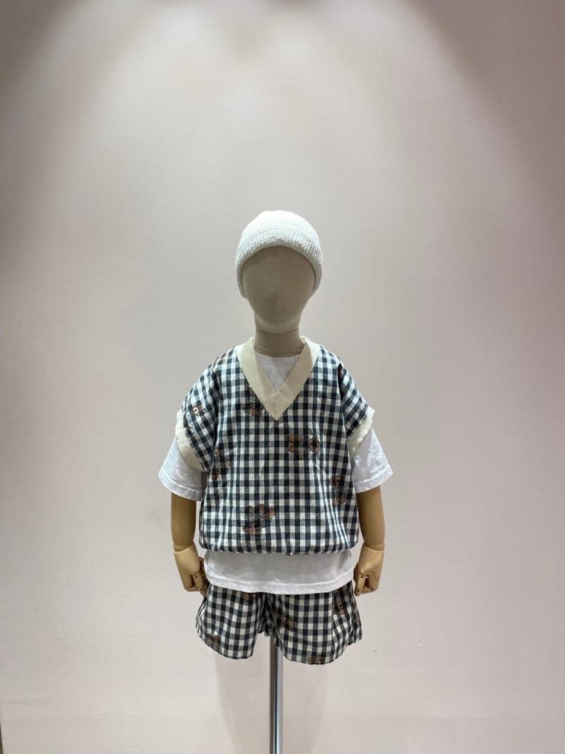 PAPER STUDIOS - Korean Children Fashion - #Kfashion4kids - Bear Sleeveless - 2