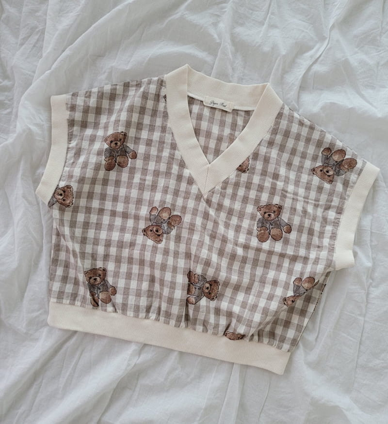 PAPER STUDIOS - Korean Children Fashion - #Kfashion4kids - Bear Shorts - 12