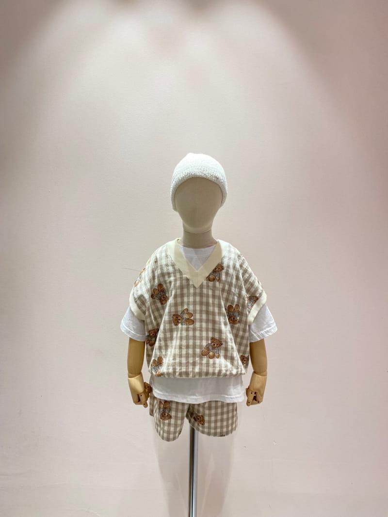 PAPER STUDIOS - Korean Children Fashion - #Kfashion4kids - Bear Shorts - 2