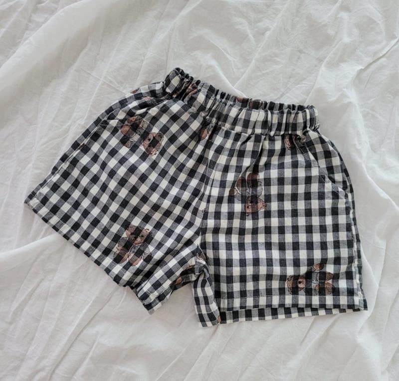 PAPER STUDIOS - Korean Children Fashion - #Kfashion4kids - Bear Shorts - 4