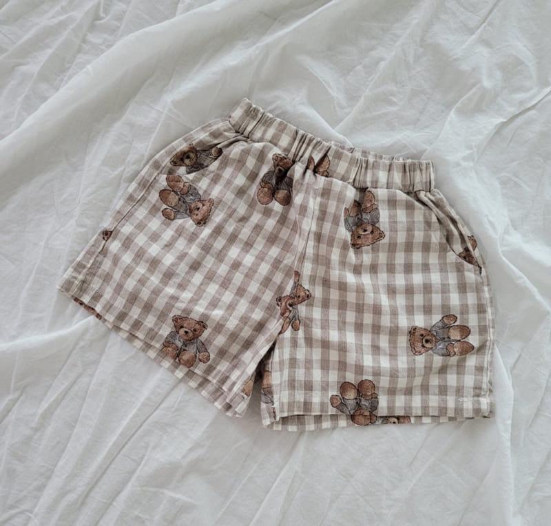 PAPER STUDIOS - Korean Children Fashion - #Kfashion4kids - Bear Shorts - 8