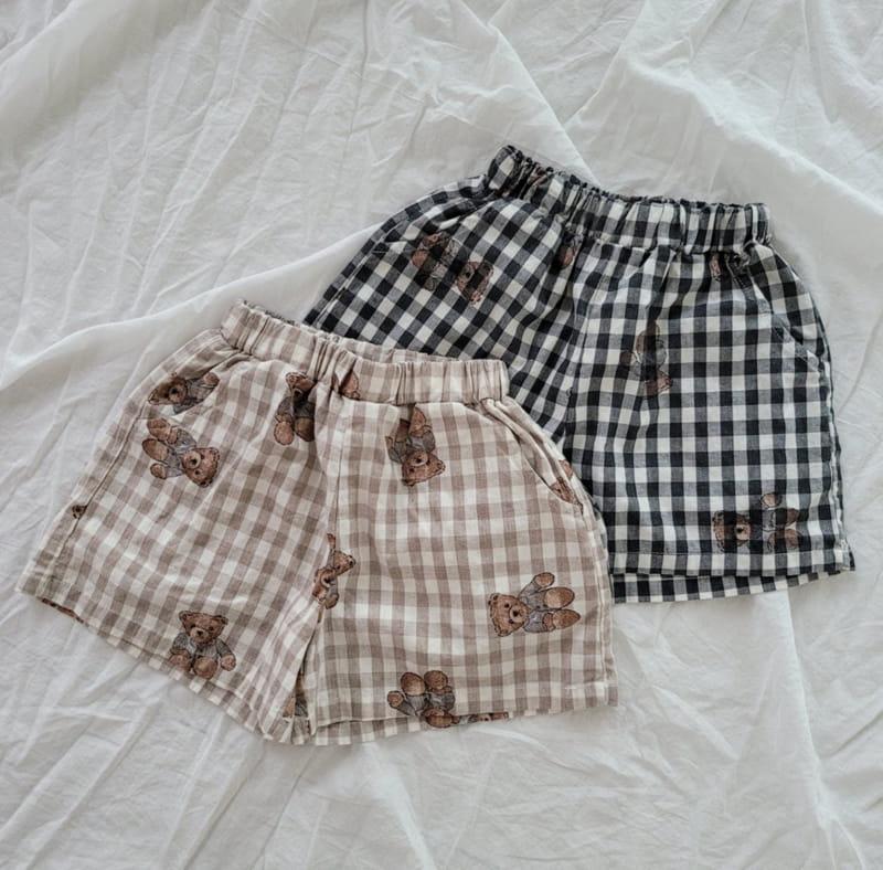 PAPER STUDIOS - Korean Children Fashion - #Kfashion4kids - Bear Shorts - 9