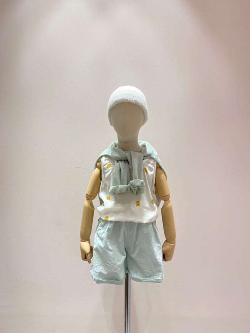 PAPER STUDIOS - Korean Children Fashion - #Kfashion4kids - Smile Sleeveless - 5