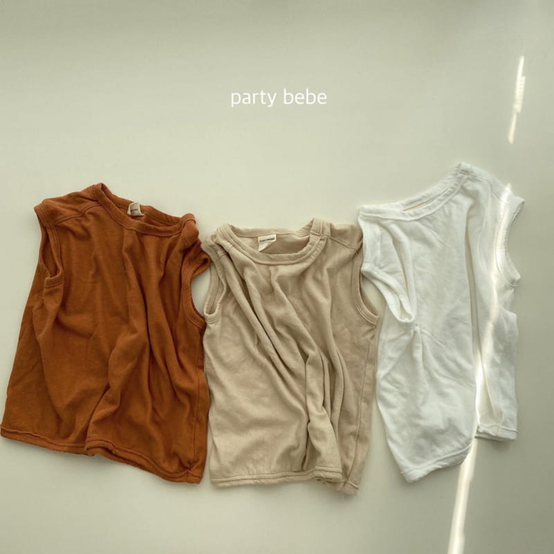 PARTY KIDS - Korean Children Fashion - #Kfashion4kids - Tini Bebe Sleeveless - 2