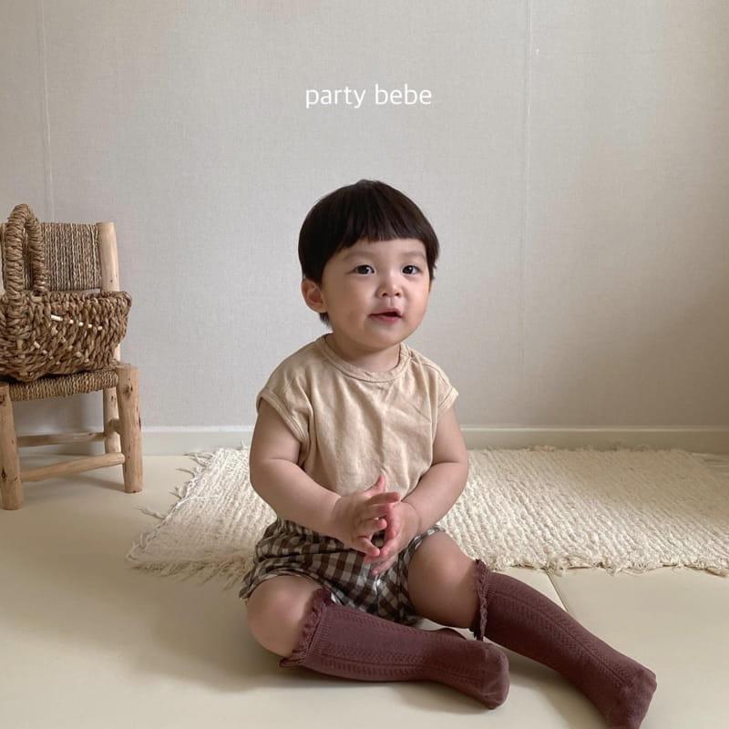 PARTY KIDS - Korean Children Fashion - #Kfashion4kids - Tini Bebe Sleeveless - 8