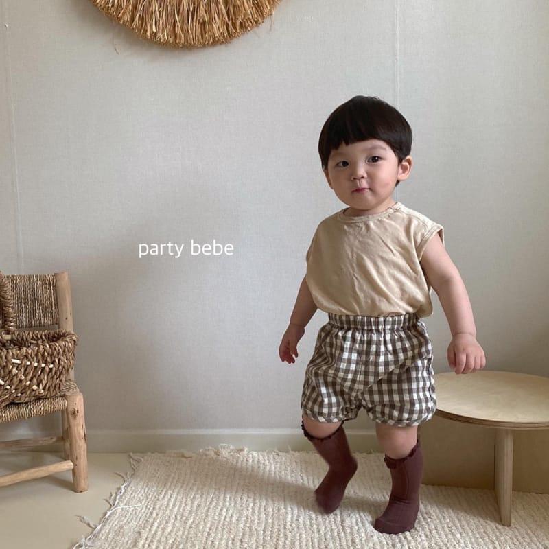 PARTY KIDS - Korean Children Fashion - #Kfashion4kids - Tini Bebe Sleeveless - 9
