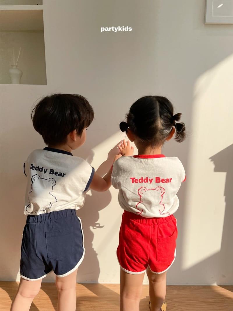 PARTY KIDS - Korean Children Fashion - #Kfashion4kids - Tendy Bear Top Bottom Set - 5