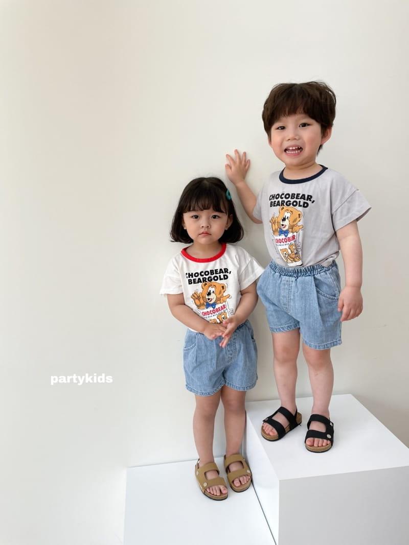 PARTY KIDS - Korean Children Fashion - #Kfashion4kids - Choco Bear Tee - 11