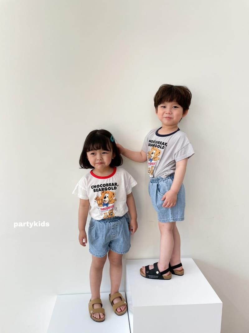 PARTY KIDS - Korean Children Fashion - #Kfashion4kids - Choco Bear Tee - 12