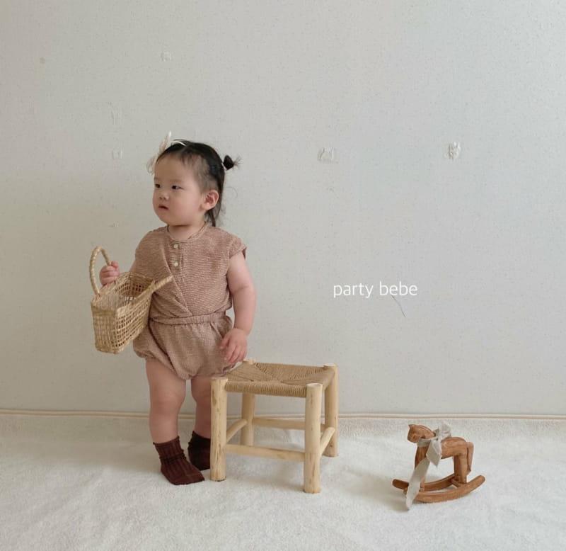 PARTY KIDS - Korean Children Fashion - #Kfashion4kids - Check Check Cool Top Bottom Set - 10