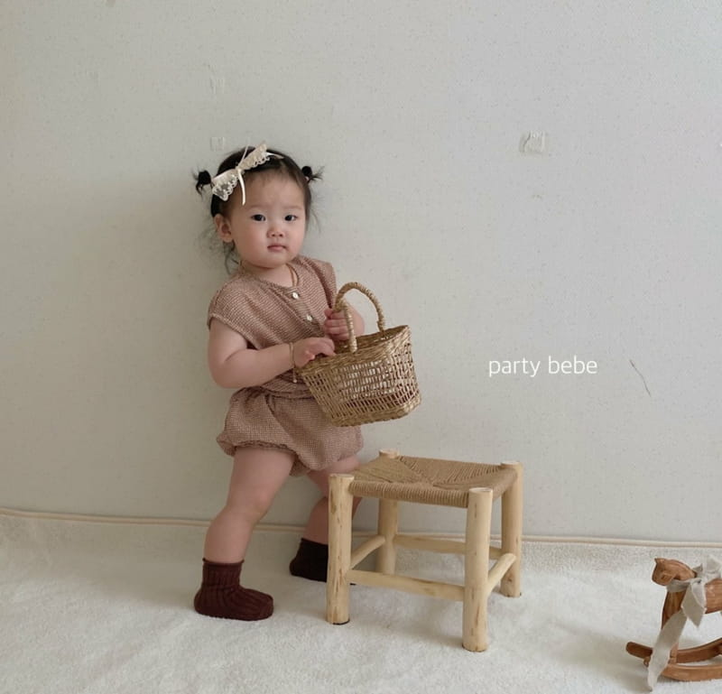 PARTY KIDS - Korean Children Fashion - #Kfashion4kids - Check Check Cool Top Bottom Set - 11