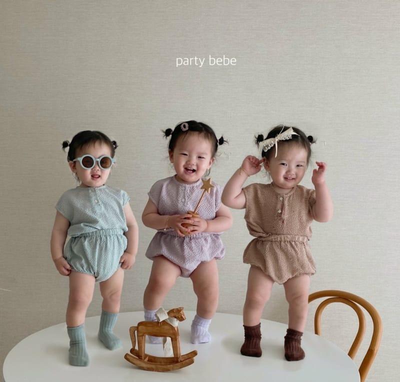 PARTY KIDS - Korean Children Fashion - #Kfashion4kids - Check Check Cool Top Bottom Set - 2
