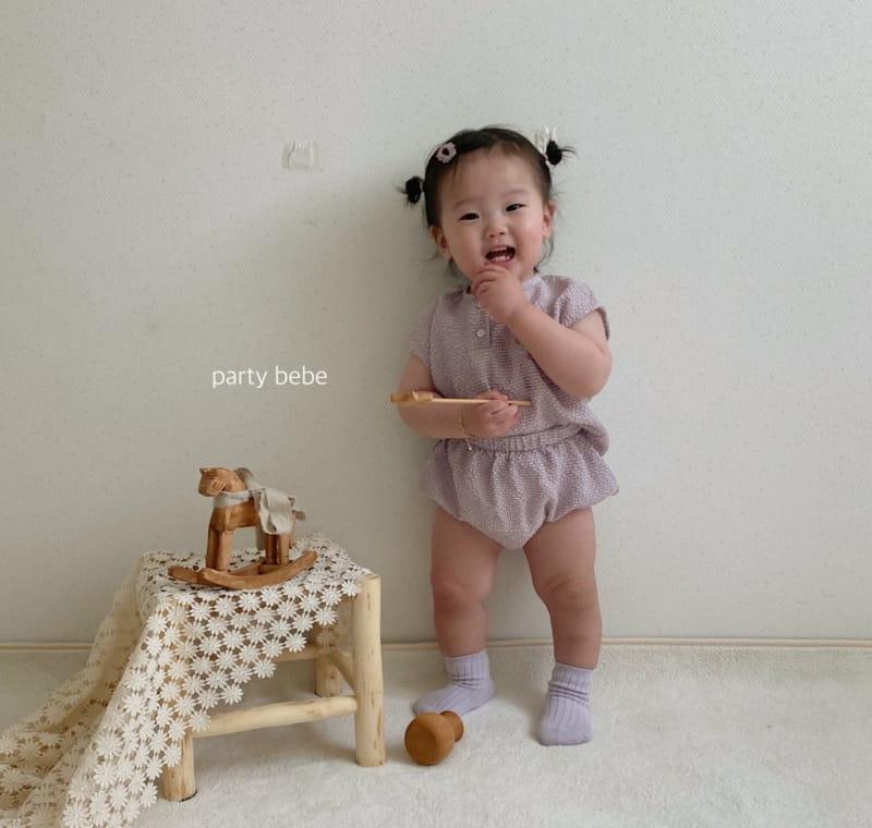 PARTY KIDS - Korean Children Fashion - #Kfashion4kids - Check Check Cool Top Bottom Set - 4
