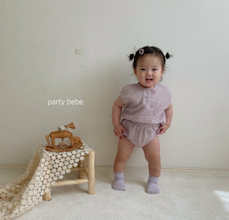 PARTY KIDS - Korean Children Fashion - #Kfashion4kids - Check Check Cool Top Bottom Set - 6