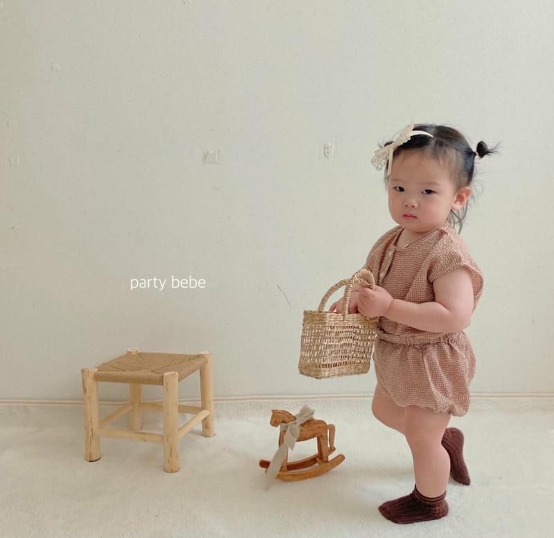 PARTY KIDS - Korean Children Fashion - #Kfashion4kids - Check Check Cool Top Bottom Set - 9