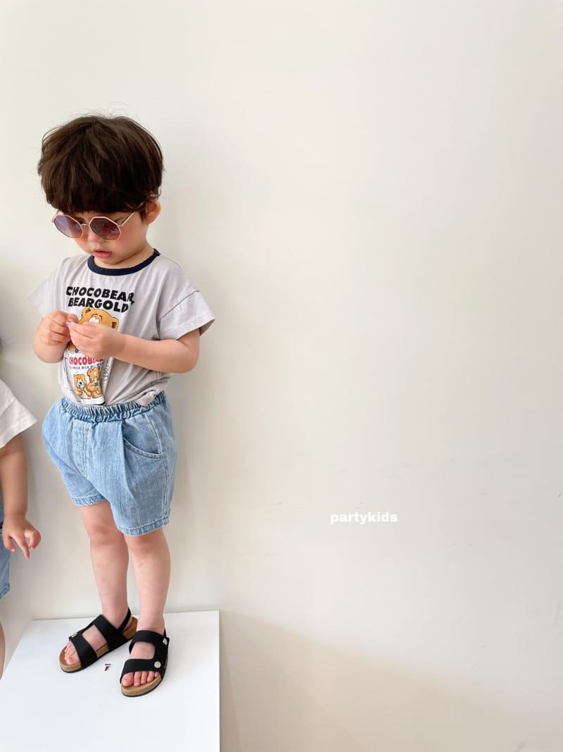 PARTY KIDS - Korean Children Fashion - #Kfashion4kids - Summer Denim Shorts - 11