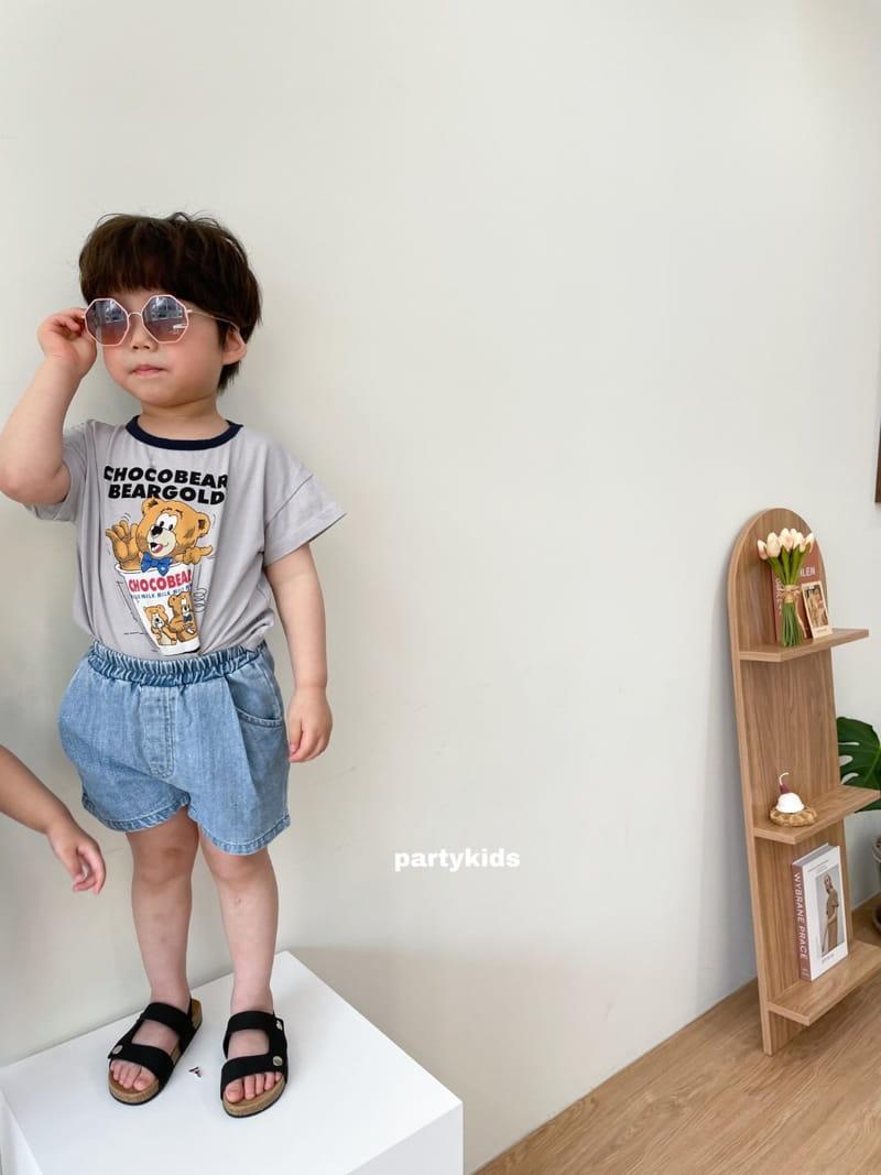 PARTY KIDS - Korean Children Fashion - #Kfashion4kids - Summer Denim Shorts - 12