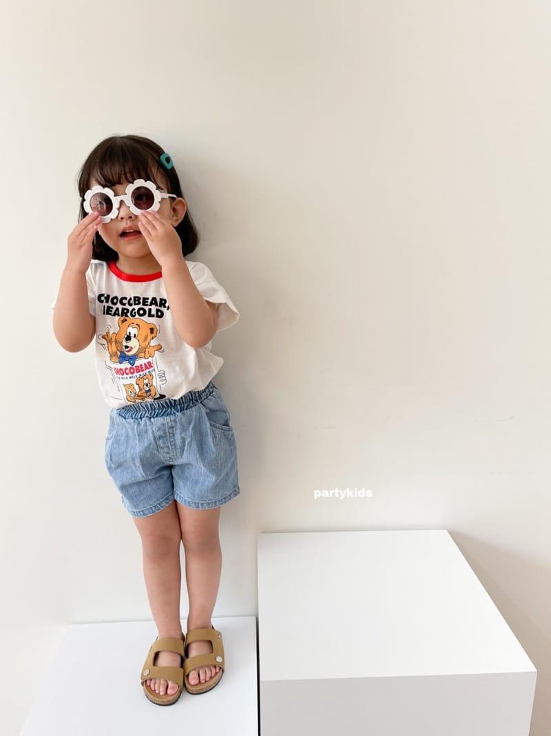 PARTY KIDS - Korean Children Fashion - #Kfashion4kids - Summer Denim Shorts - 9