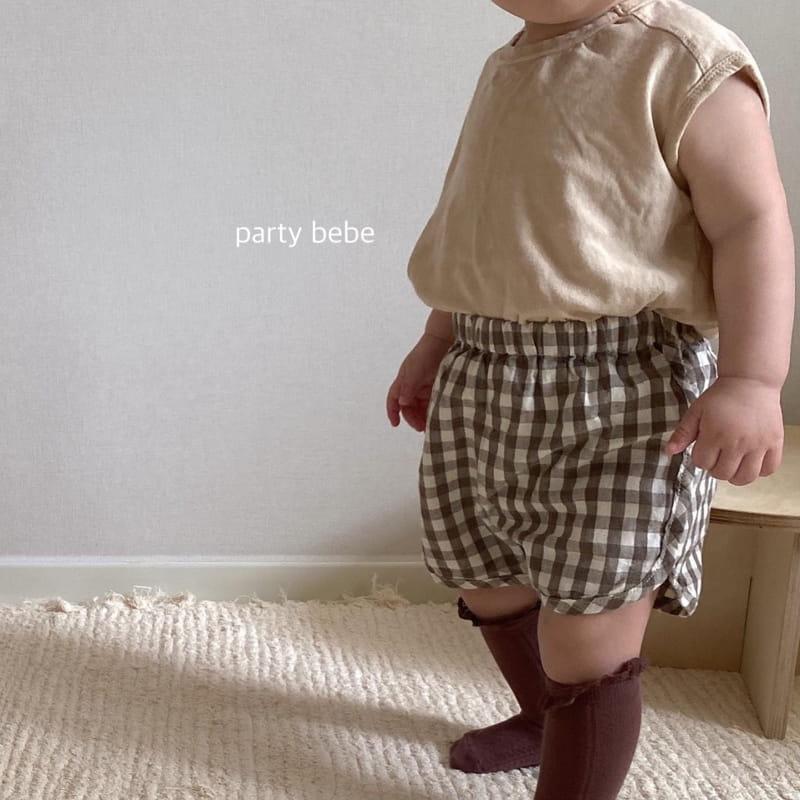 PARTY KIDS - Korean Children Fashion - #Kfashion4kids - Bebe Ppi Ppi Shorts