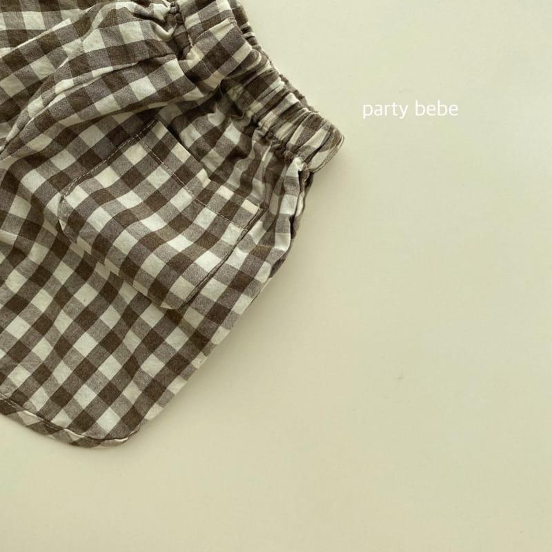 PARTY KIDS - Korean Children Fashion - #Kfashion4kids - Bebe Ppi Ppi Shorts - 12