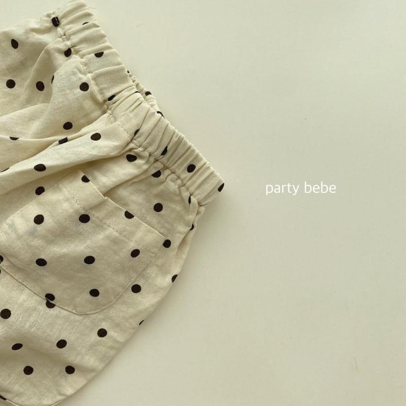 PARTY KIDS - Korean Children Fashion - #Kfashion4kids - Bebe Ppi Ppi Shorts - 6