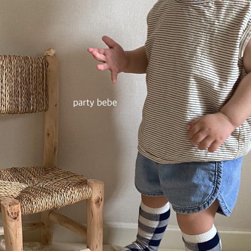 PARTY KIDS - Korean Children Fashion - #Kfashion4kids - Bebe Ppi Ppi Denim Shorts - 11