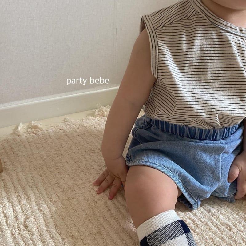 PARTY KIDS - Korean Children Fashion - #Kfashion4kids - Bebe Ppi Ppi Denim Shorts - 8