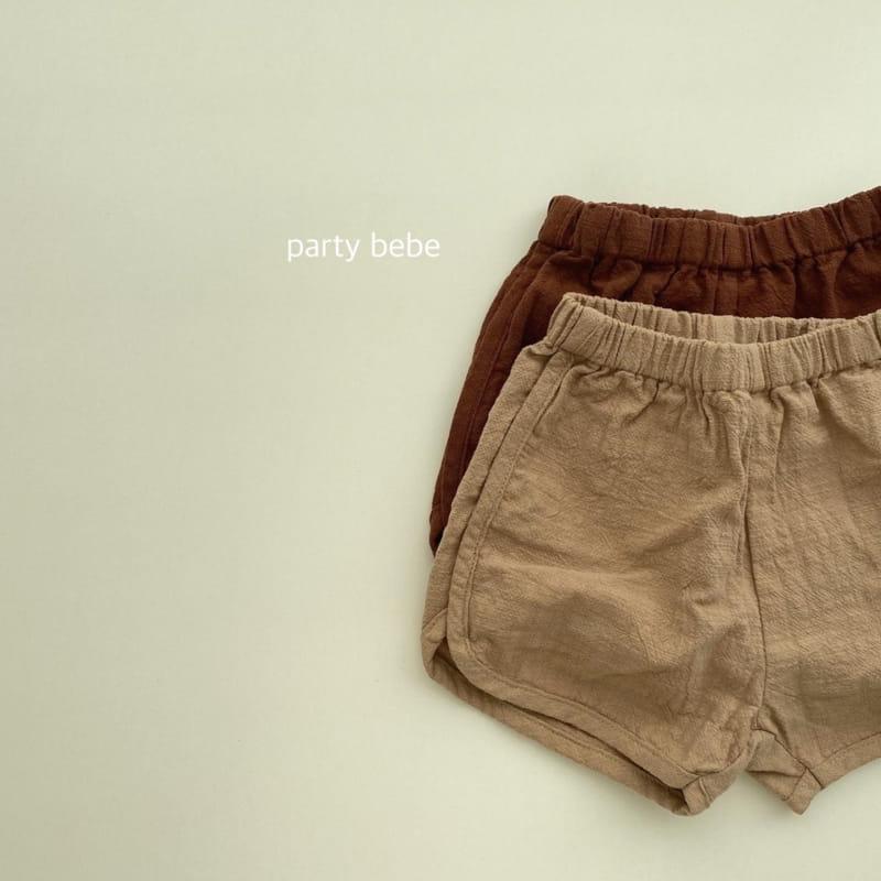 PARTY KIDS - Korean Children Fashion - #Kfashion4kids - Bebe Ppi Ppi Simple Shorts - 3