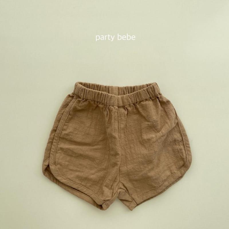 PARTY KIDS - Korean Children Fashion - #Kfashion4kids - Bebe Ppi Ppi Simple Shorts - 4