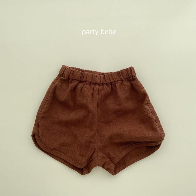 PARTY KIDS - Korean Children Fashion - #Kfashion4kids - Bebe Ppi Ppi Simple Shorts - 5