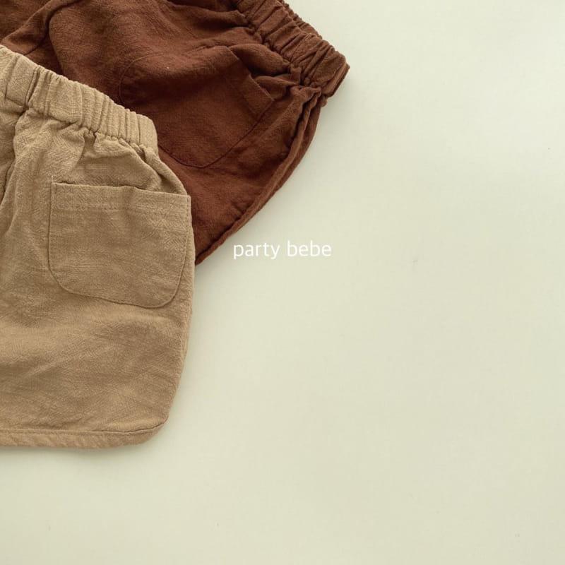 PARTY KIDS - Korean Children Fashion - #Kfashion4kids - Bebe Ppi Ppi Simple Shorts - 6