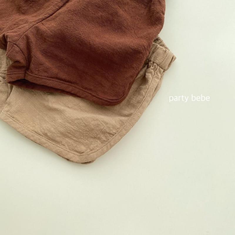 PARTY KIDS - Korean Children Fashion - #Kfashion4kids - Bebe Ppi Ppi Simple Shorts - 8