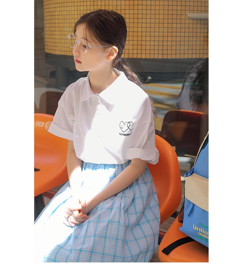 PEACH-CREAM - Korean Children Fashion - #Kfashion4kids - Arrona Tee