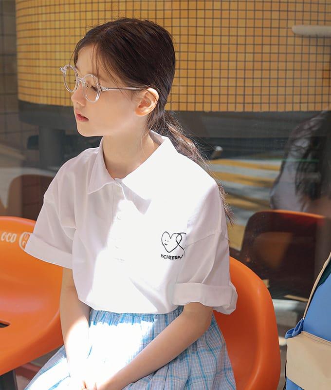 PEACH-CREAM - BRAND - Korean Children Fashion - #Kfashion4kids - Arrona Tee