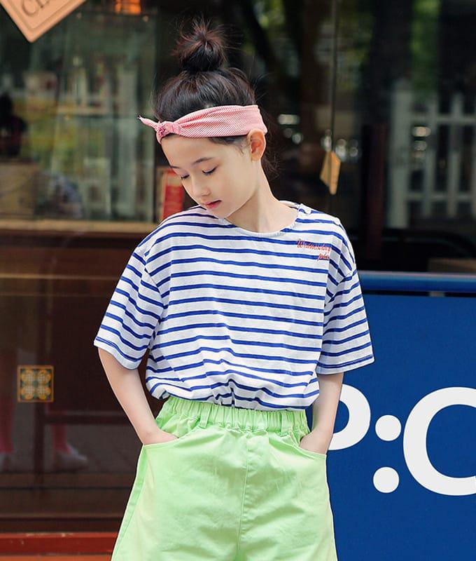 PEACH-CREAM - BRAND - Korean Children Fashion - #Kfashion4kids - Imola Tee