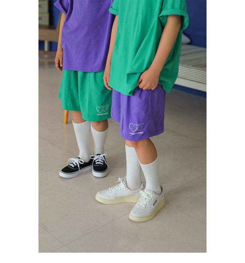 PEACH-CREAM - Korean Children Fashion - #Kfashion4kids - Padula Shorts