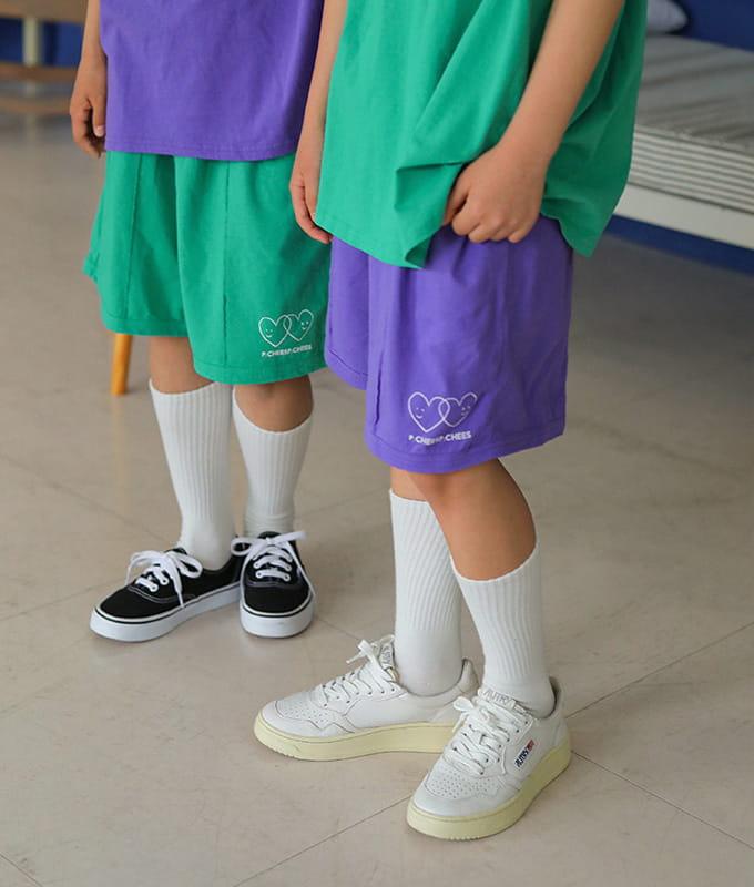 PEACH-CREAM - BRAND - Korean Children Fashion - #Kfashion4kids - Padula Shorts