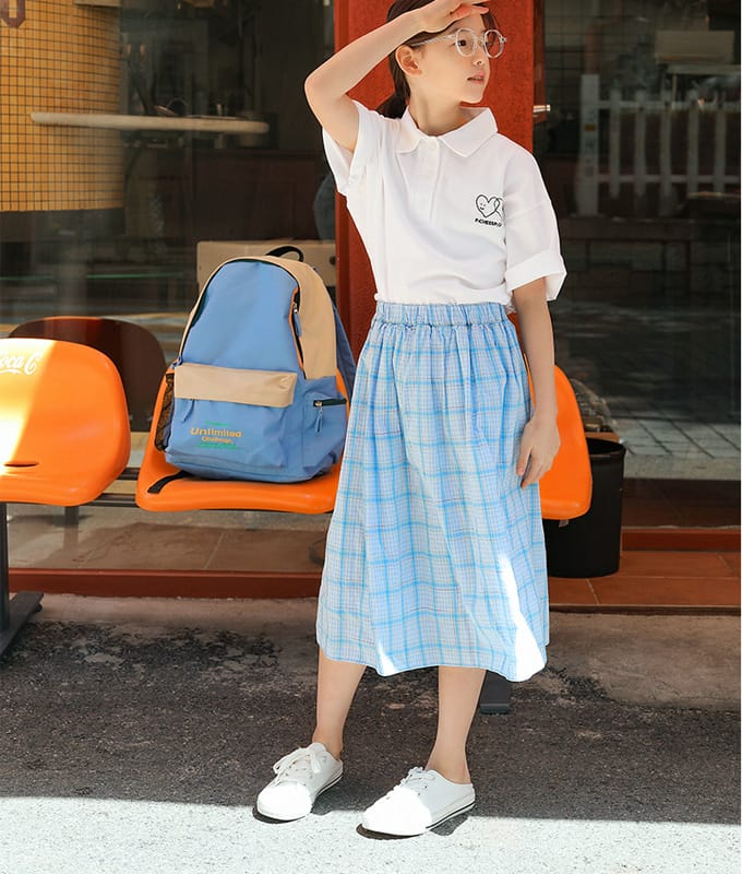 PEACH-CREAM - BRAND - Korean Children Fashion - #Kfashion4kids - Rieti Skirt