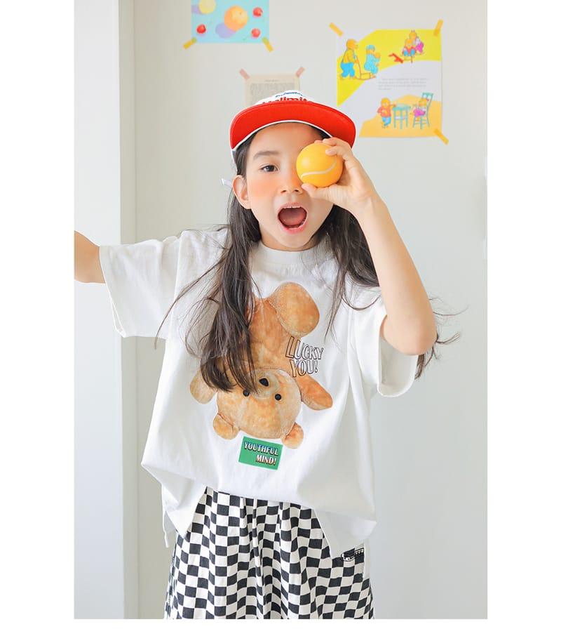 PEACH-CREAM - Korean Children Fashion - #Kfashion4kids - Robigo Tee