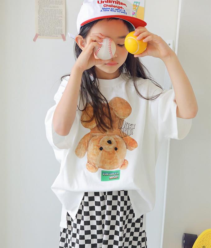 PEACH-CREAM - BRAND - Korean Children Fashion - #Kfashion4kids - Robigo Tee